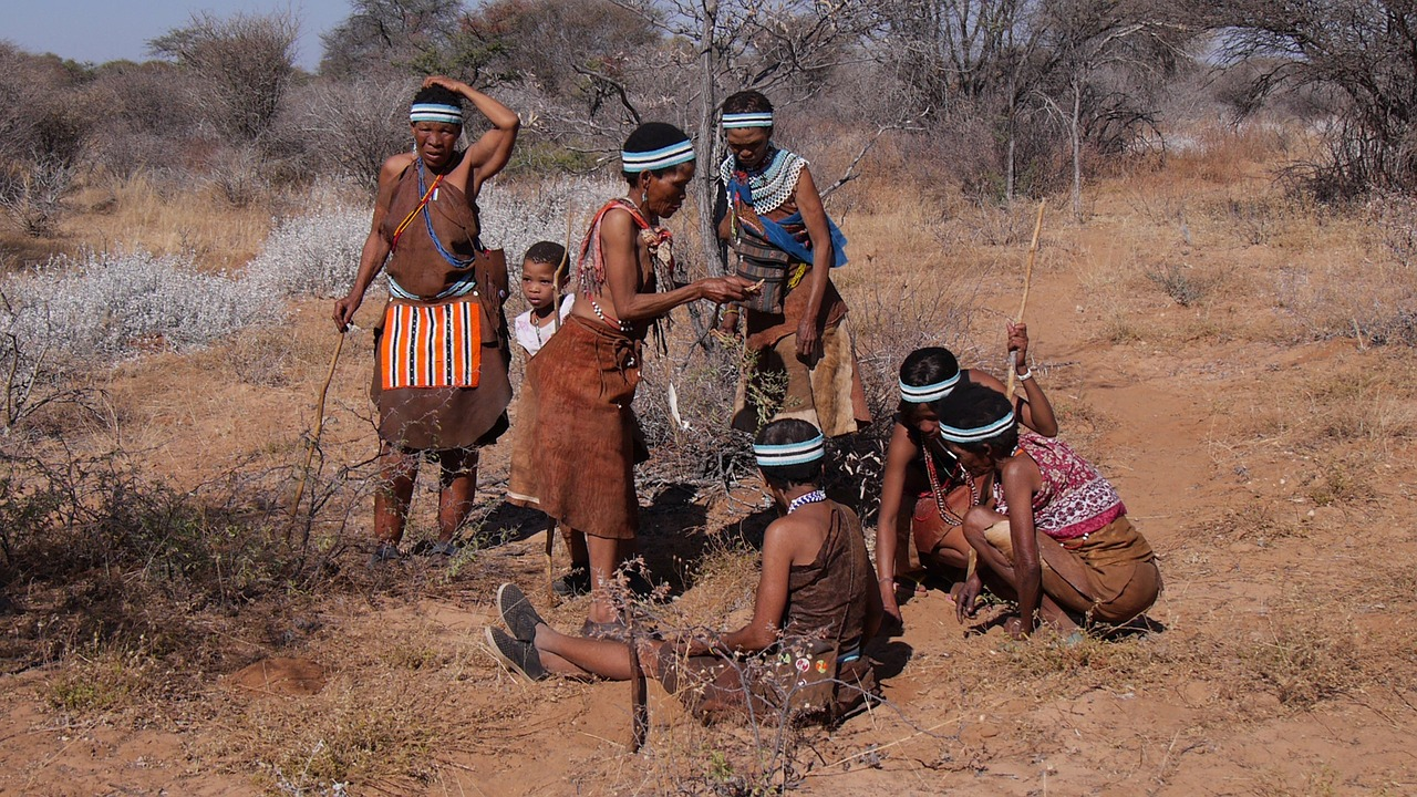 bushman of botswana Tour