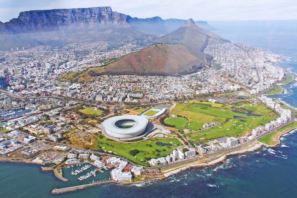 Helicopter VIEW OF CAPE TOWN Tour